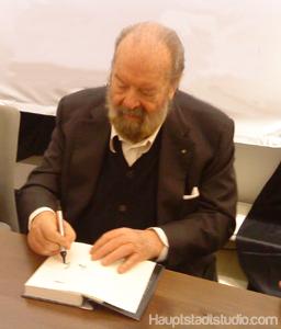 Autogrammstunde mit Bud Spencer in Berlin