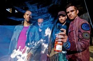 Coldplay im Mai 2011