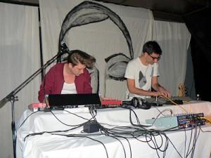 Thomas Azier & Nick Foglio @ Levee Club, Berlin - © V. Streit