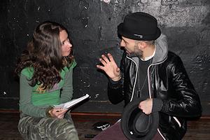 Samuel im Interview