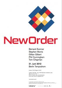 New Order live im Tempodrom